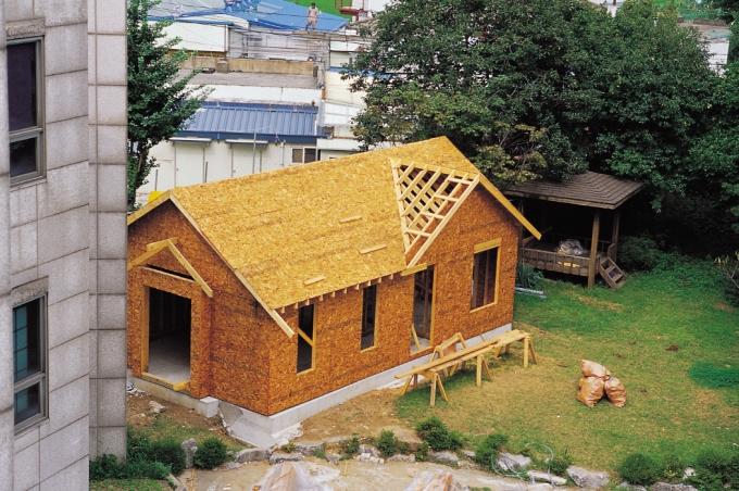 외부마감 & 지붕공사