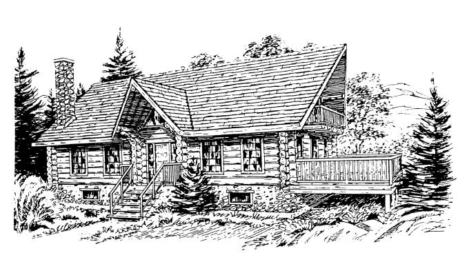자연을 옮겨 놓은 통나무주택