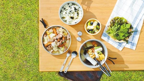 캠핑장서 간편하게 만드는 집밥 요리
