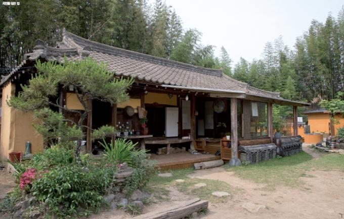고재古材의 멋 살아 있는재래식 한옥