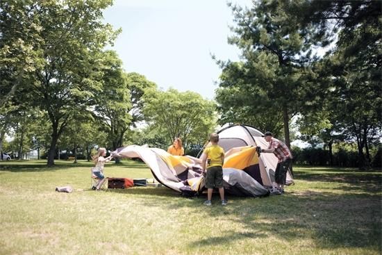 캠핑, 가족을 되찾다