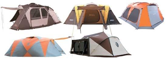 다양한 변신, 손쉬운 설치 … 텐트의 재발견