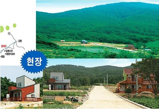 대관령 초원  전원주택단지 분양