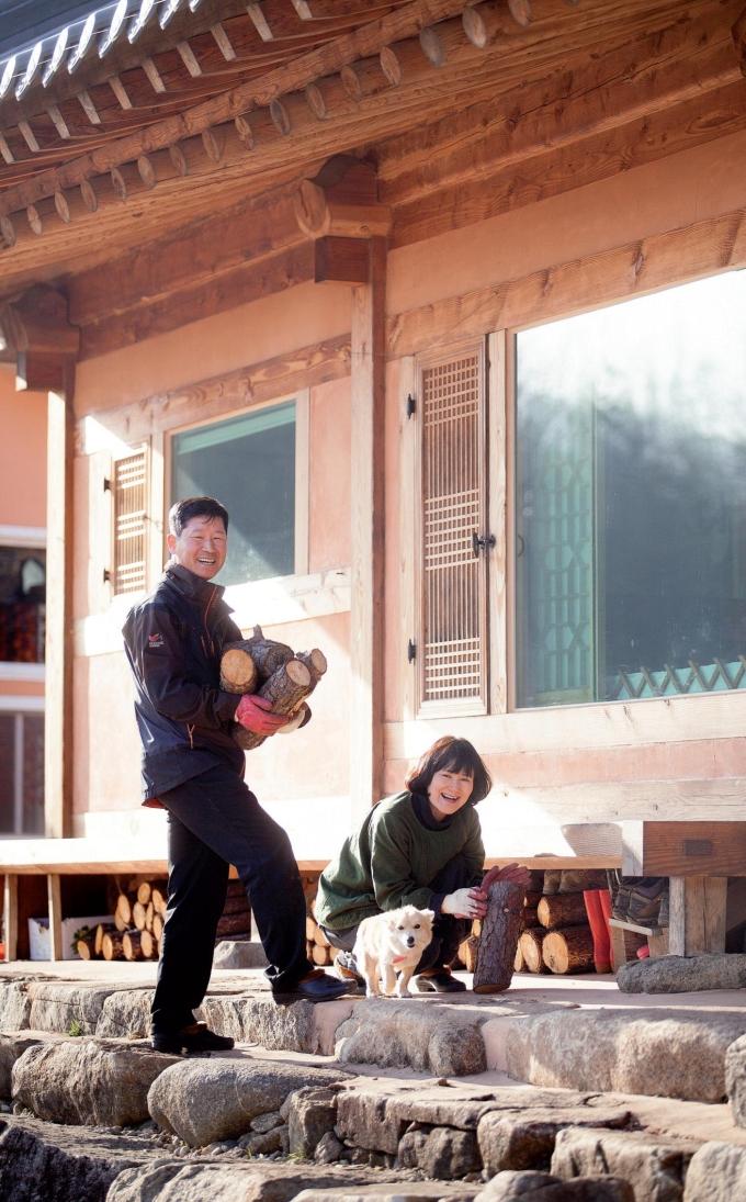 경남 하동으로 이주한 조동진·고미선 씨 부부