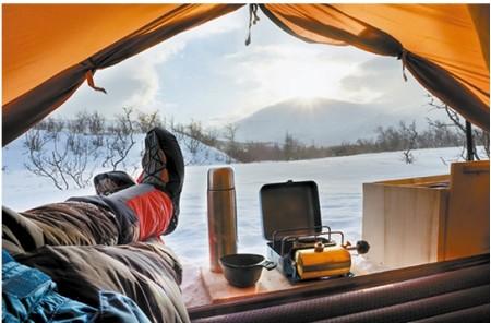 겨울방학에 떠나는 가족 캠핑